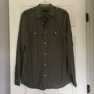 Mens size Large Banana Republic button up shirt